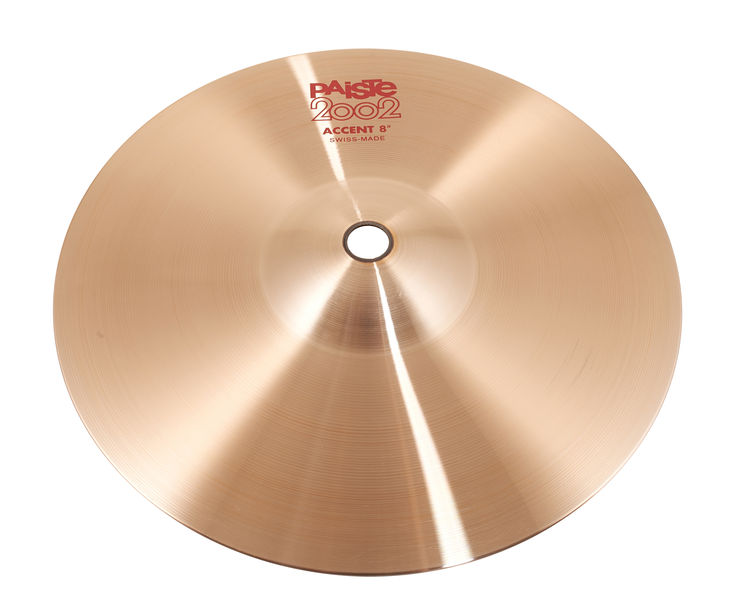 """Paiste 2002 08"""" Accent Cymbal"""
