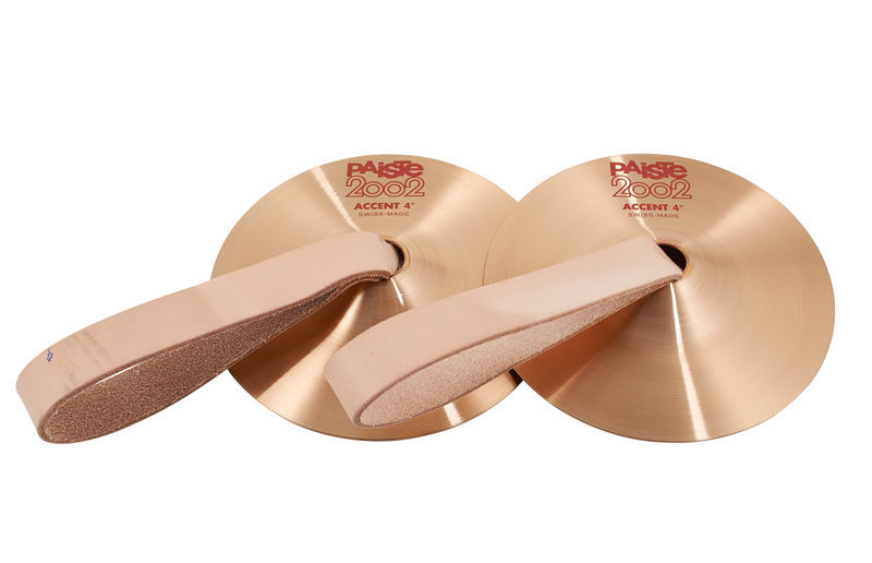 "Paiste 2002 04"" Accent Cymbal Pair"