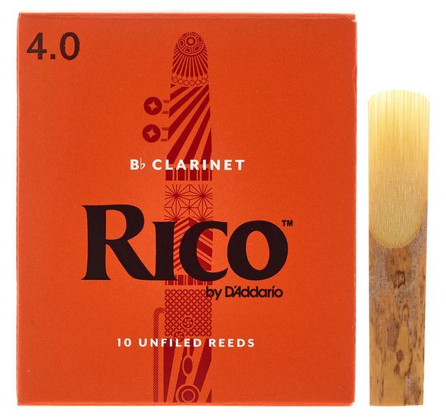 DAddario Woodwinds Rico Bb- Clar 4.0