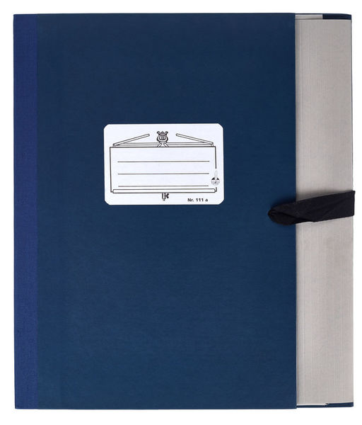 Star Music Folder 111a/5 Blue