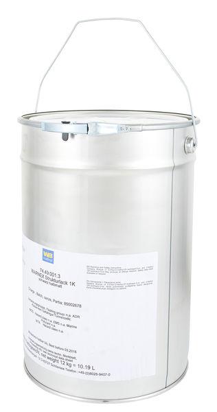 Warnex Structure Paint Black 12kg