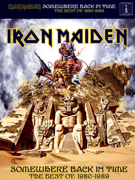 Wise Publications Iron Maiden Somewhere Back In