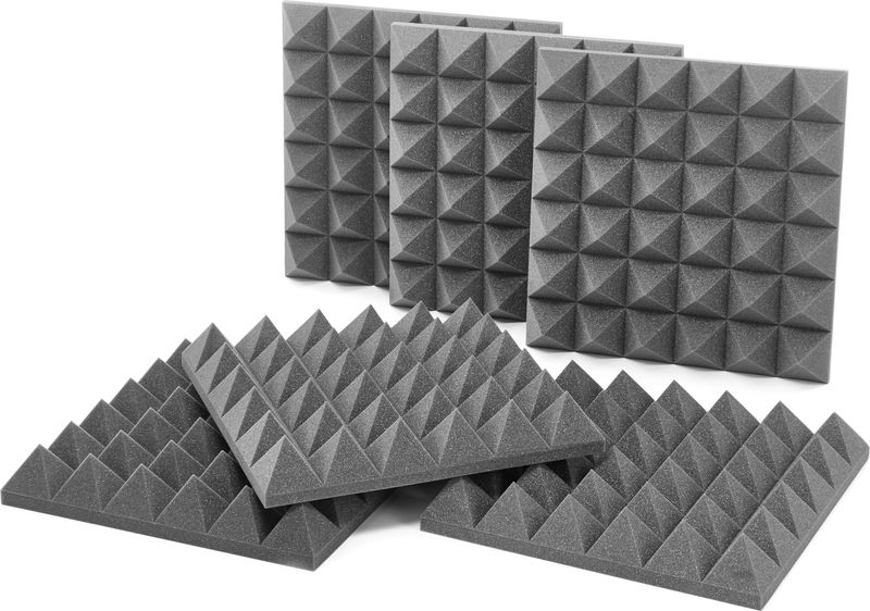 "Auralex Acoustics 4"" Studiofoam Pyramids CH"