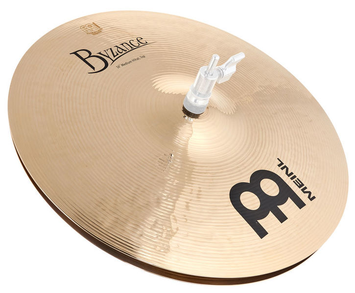 "Meinl 14""Byzance Medium HiHat Brill."