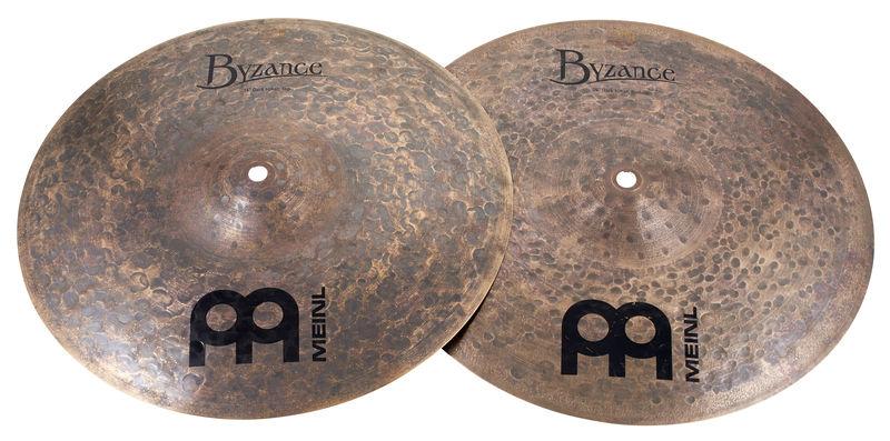 """Meinl 14"""" Byzance Dark Hi-Hat"""