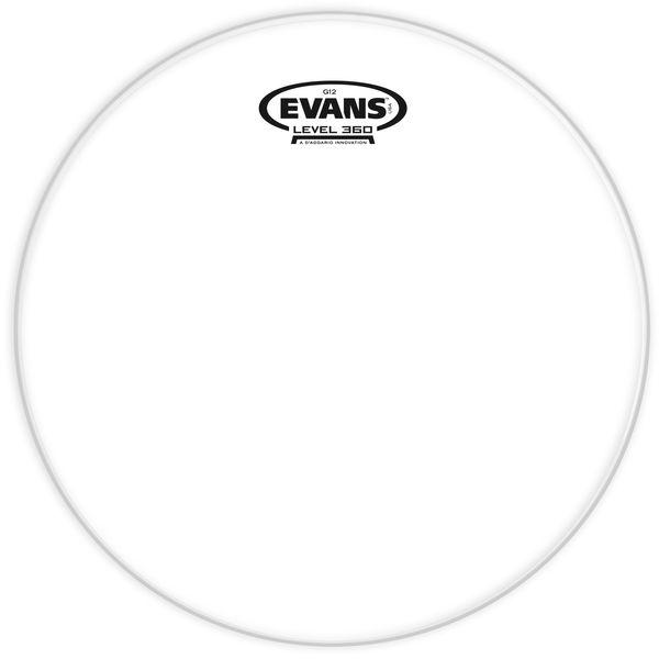 "Evans 15"" G12 Clear TomTom"
