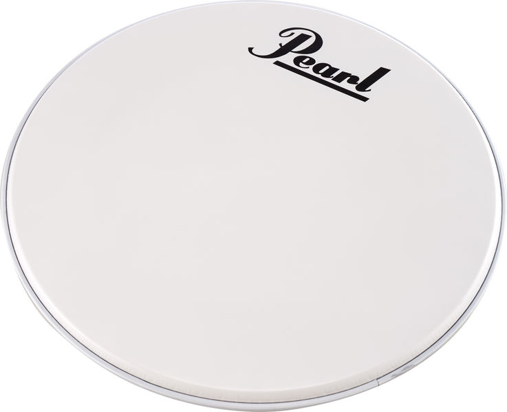 """Pearl 24"""" Bass Drum Front Head White"""