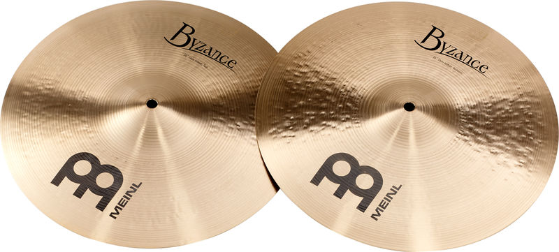 """Meinl 14"""" Byzance Trad. Thin Hi-Hat"""