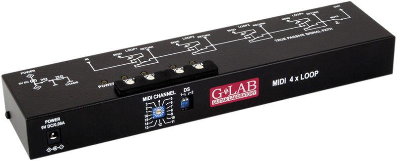 G-LAB MIDI 4x Loop