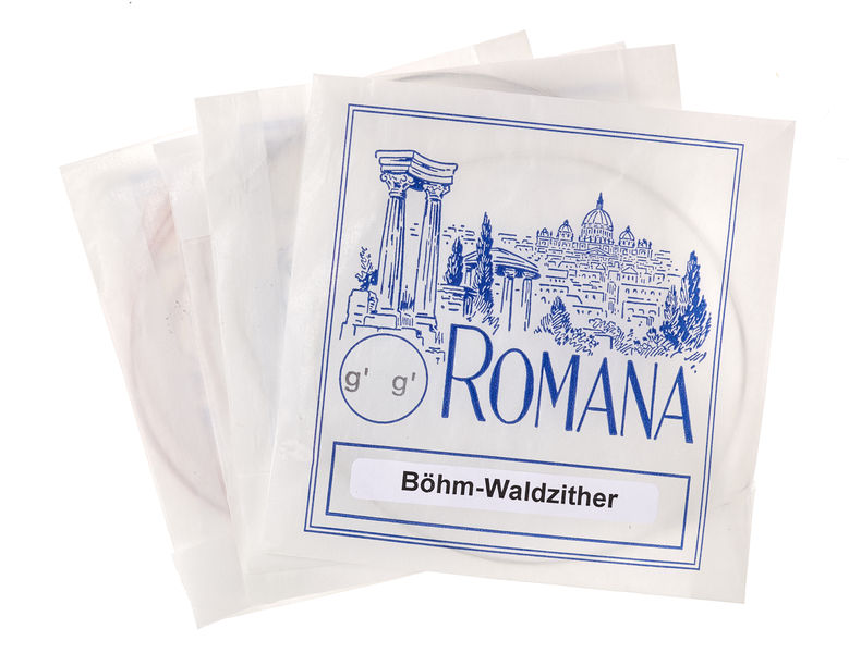 Romana Böhmwaldzither Strings