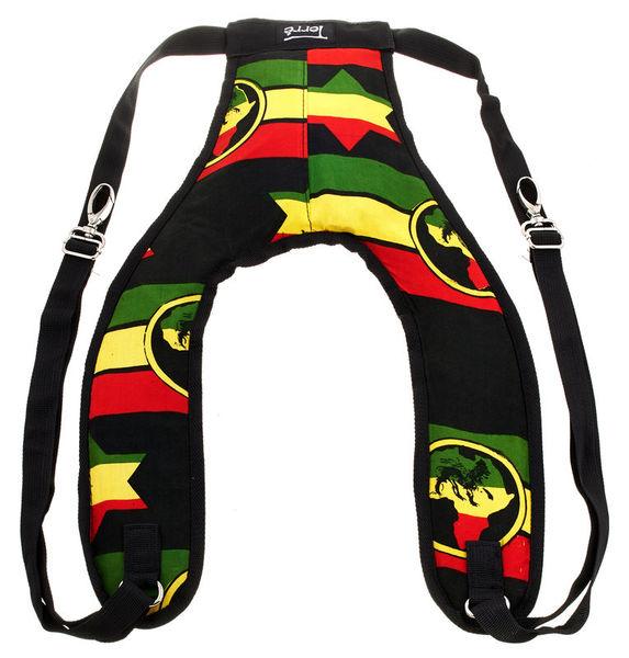 Terre Djembe Back Pack Strap Rasta