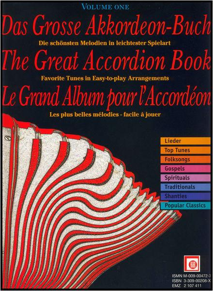 Edition Melodie Das grosse Akkordeon-Buch 1