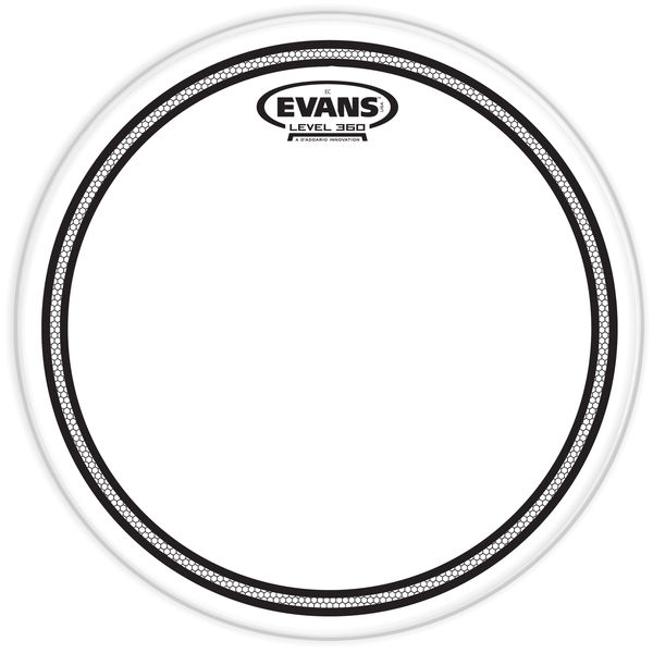 """Evans 10"""" EC Edge Control Snare"""