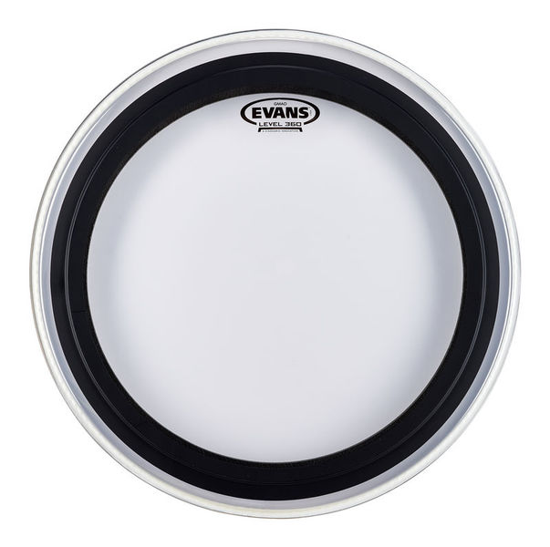 """Evans 18"""" GMAD Clear Bass Drum"""