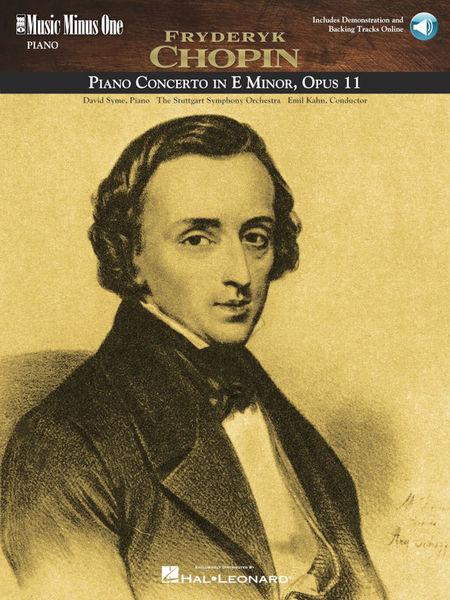 Music Minus One Chopin Piano Concerto E minor