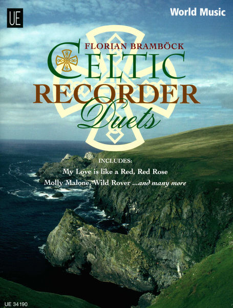 Universal Edition Celtic Recorder Duets