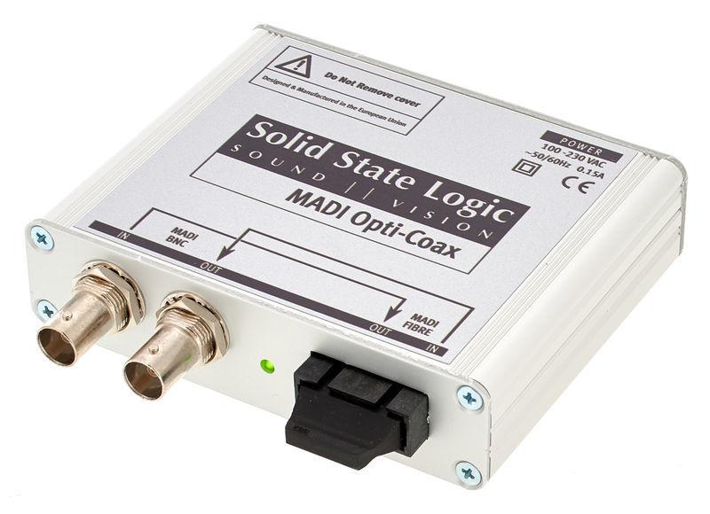 SSL X Logic DeltaLinkMadi OptiCoax