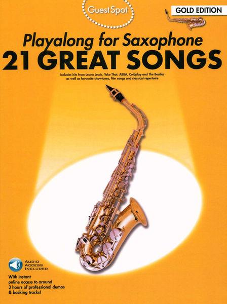 Blue Book Altsaxophon Noten 21 Classic Hits Playalong for Alto Saxophone