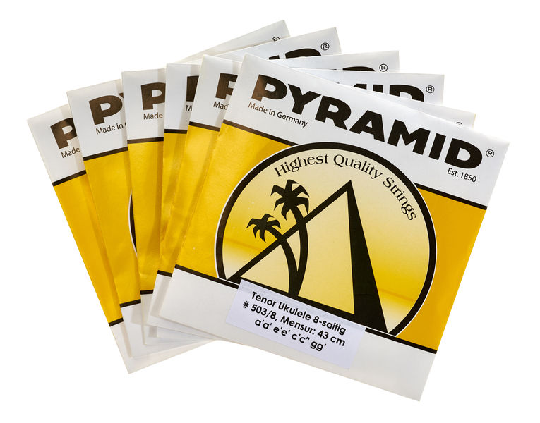 Pyramid Ukulele 8 string Set Tenor