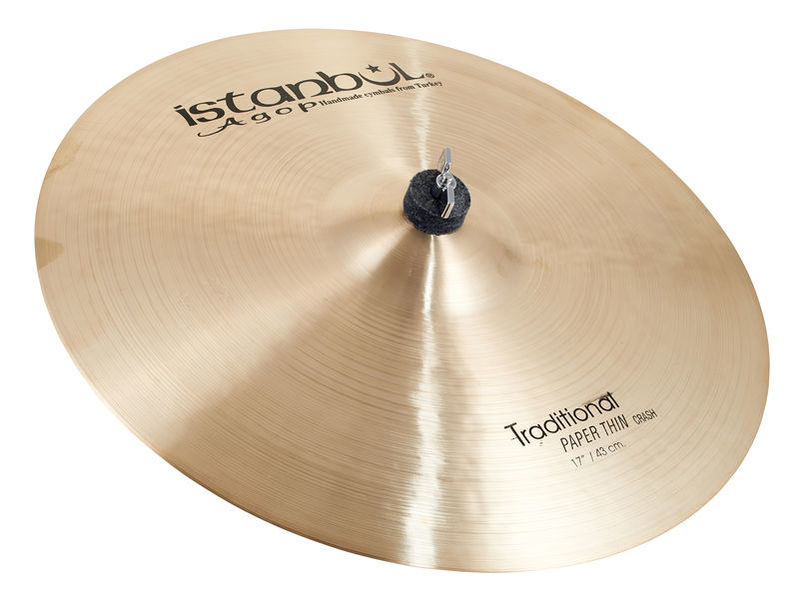 Istanbul Agop Traditional Pap.Thin Crash 17""