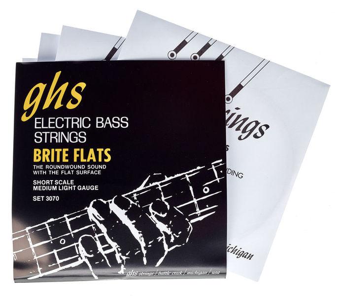 GHS 3070 R Brite Flats Short Scale