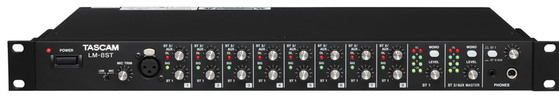 Tascam LM-8ST Line Mixer