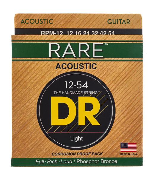 DR Strings Rare Acoustic Medium RPM-12