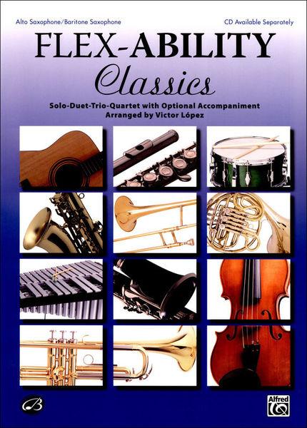 Alfred Music Publishing Flex-Ability Classics Alto Sax