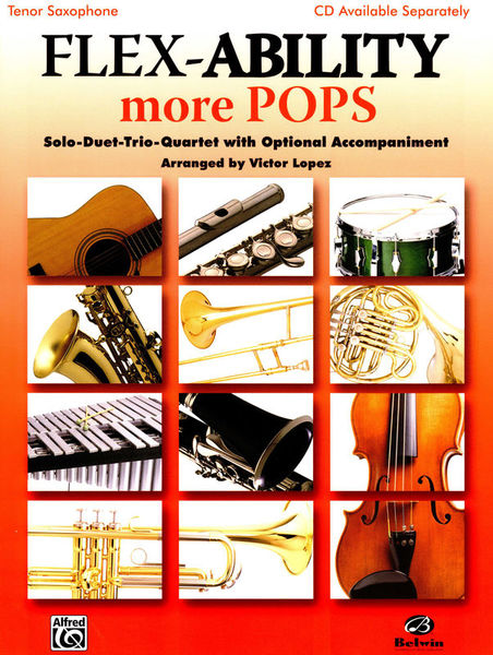 Alfred Music Publishing Flex-Ability More Pops T-Sax