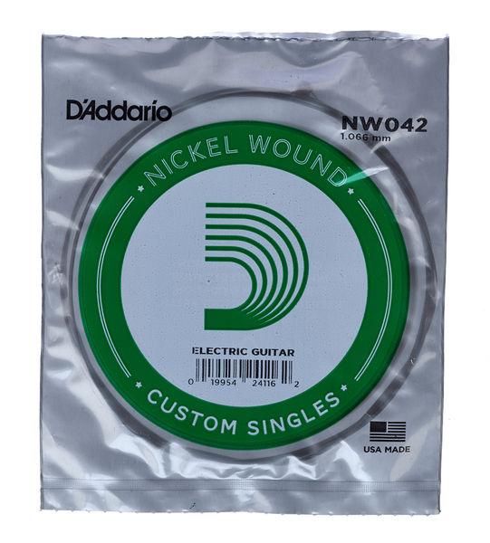 Daddario NW042 Single String