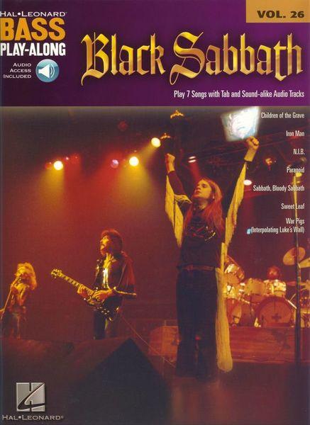 Hal Leonard Bass Play-Along Black Sabbath