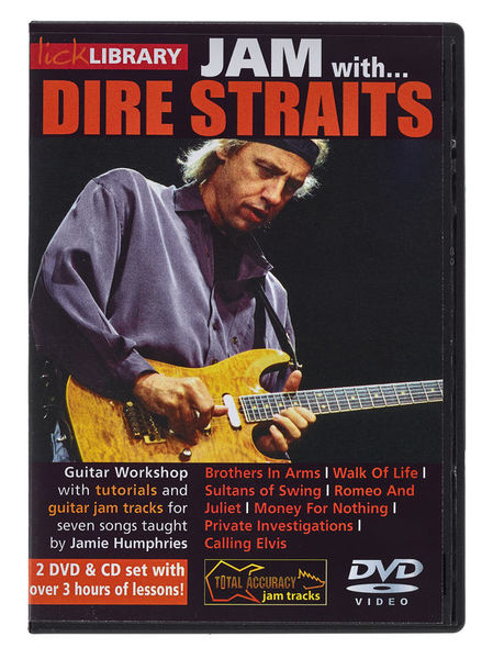 Roadrock International Lick Library Jam Dire Straits