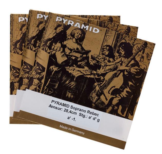 Pyramid Soprano Rebec Strings