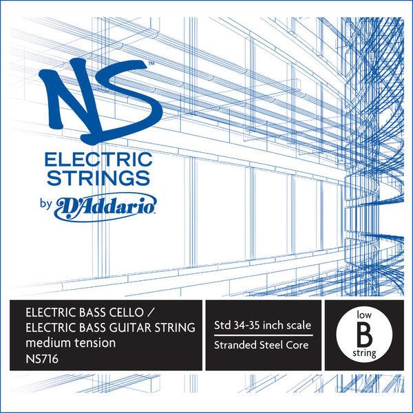 Daddario NS716 Electric Bass/Cello B