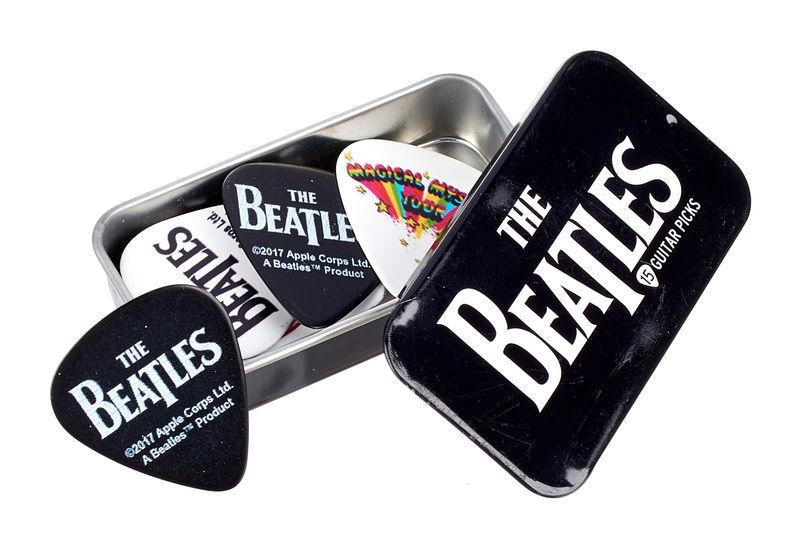 Daddario Beatles Logo Pick box