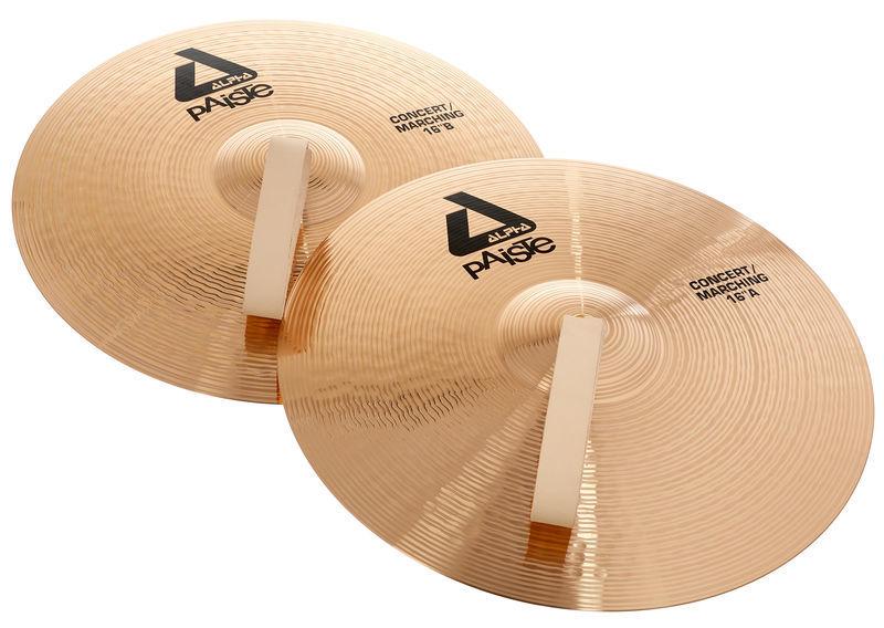 """Paiste 16"""" Alpha Concert Cymbals"""