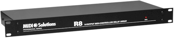 MIDI Solutions R8 Relay