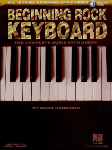 Hal Leonard Beginning Rock Keyboard
