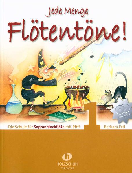 Holzschuh Verlag Jede Menge Flötentöne 1 + CD