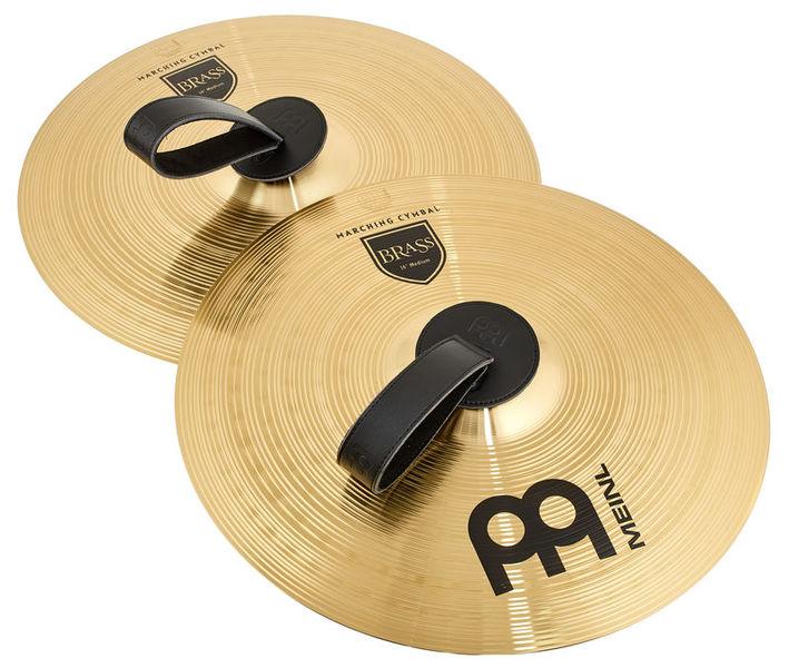 """Meinl 16"""" Brass Marching Cymbal"""