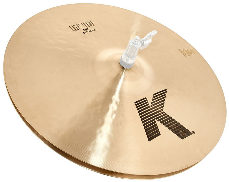 "Zildjian K-Series 15"" Light Hi-Hat"