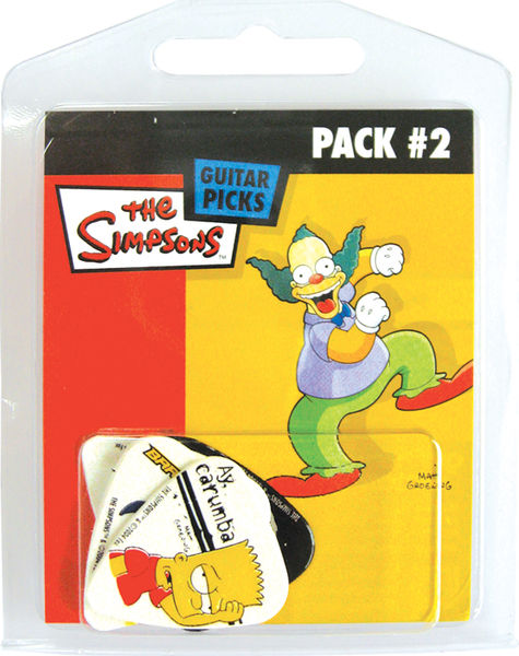 Grover Allman Simpsons Pick Pack 2