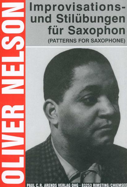 Paul C.R. Arends Verlag Improvisations-Stilübungen Sax