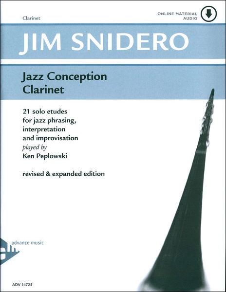 Advance Music Jazz Conception Clarinet