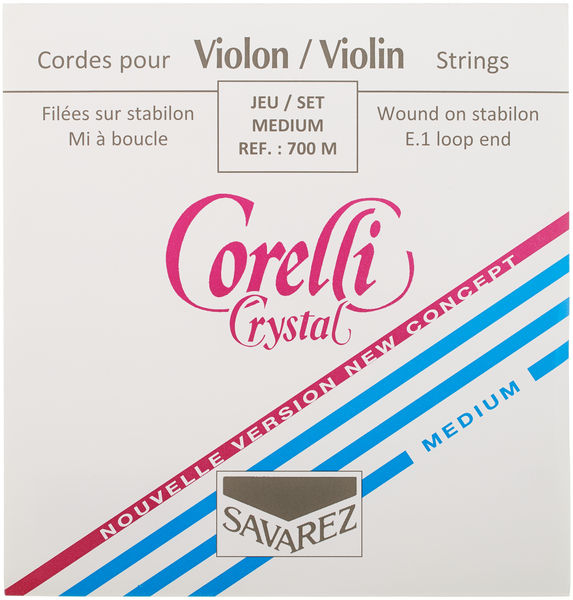 Corelli Crystal 700M Violin Strings