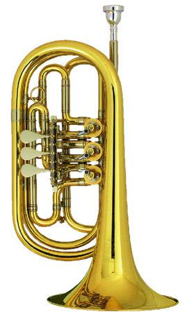 Melton 129-L Bb- Bass Trumpet