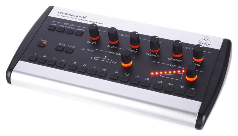 Behringer Powerplay P16-M Personal Mixer – Musikhaus ThomannWarenkorbWarenkorbWarenkorb