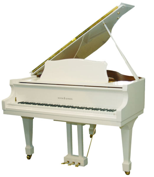 Roth & Junius RJGP 186 WH/P Grand Piano