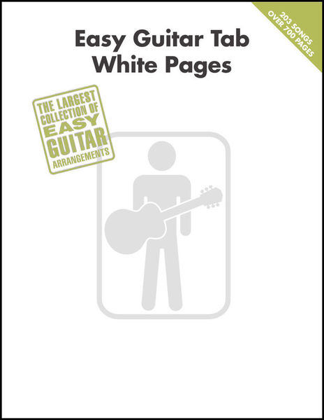 Hal Leonard Easy Guitar Tab White Pages