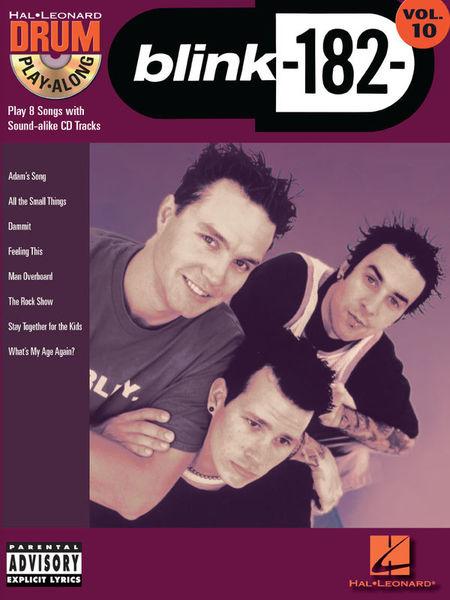 Hal Leonard Drum Play-Along Blink-182